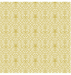 seamless pattern in modern oriental style vector image
