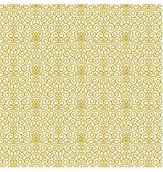 seamless pattern in modern oriental style vector image