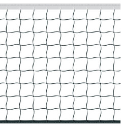seamless volleyball net vector image