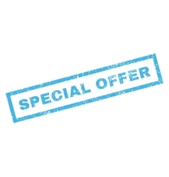 Special Offer Rubber Stamp vector