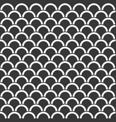 seamless pattern scale or wave background vector image