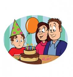 birthday boy vector image vector image