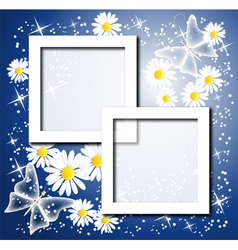 design photo frames vector image
