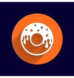 Donut sign Branding Identity Corporate logo vector image