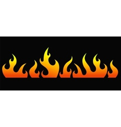 Fire 3 vector image