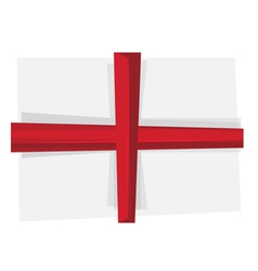 flag england vector image