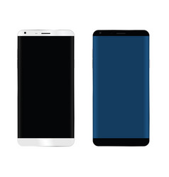 Mobile phone set vector