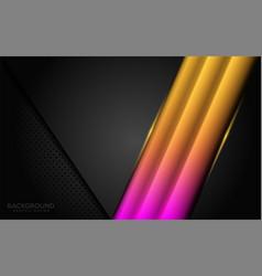 Modern dark background combine with glowing vector