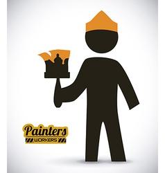 painters design vector image