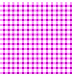 Seamless retro white-pink square tablecloth vector image vector image