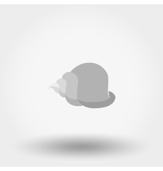 Shell Flat icon vector image