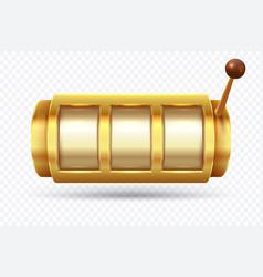 slot machine jackpot poker 777 golden slot vector image