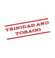 Trinidad And Tobago Watermark Stamp vector