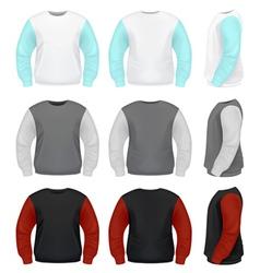 Men Sweater vector image vector image