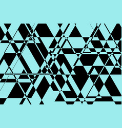 abstract black-blue background vector image
