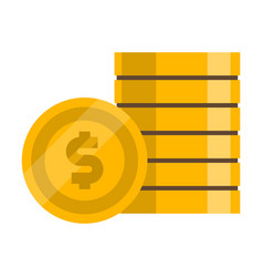 Bet flat color icon vector
