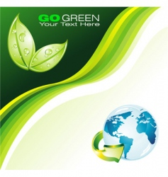 earth background for flyers vector image