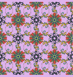 Pattern cute floral pattern in the small flower vector