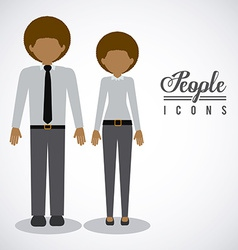 People design vector image