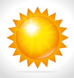 Summer sun design vector