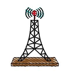 Telecommunication icon image vector