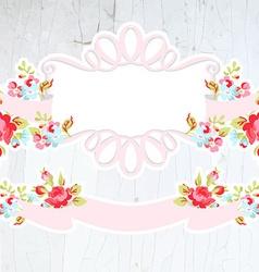 wedding vignettes design elements collection vector image