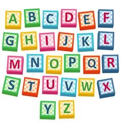 Baby Blocks vector image