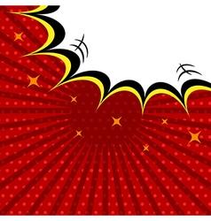 Comic speech bubble vintage dialog poster vector image vector image