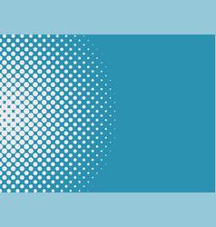 halftone dots background pop art style modern vector image