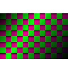 Abstract background pink and green squares vector image