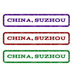 China suzhou watermark stamp vector