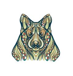 ethnic dog vector image