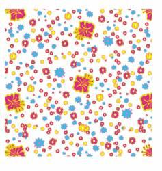 Flower wallpaper pattern vector
