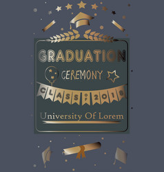Graduation class two thousand eighteen vector