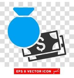 Money Bag Eps Icon vector