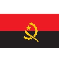 Angola flag image vector