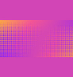 background halftone dot pattern retro vector image