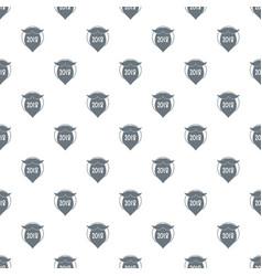 beard pattern seamless vector image