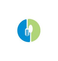 bistro logo vector image