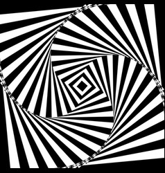 black and white geometric vector image