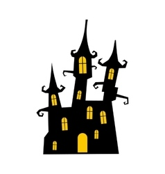 Dream castle icon vector