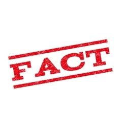 Fact Watermark Stamp vector