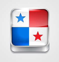 flag of panama vector image