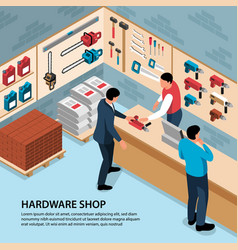 Hardware shop vector