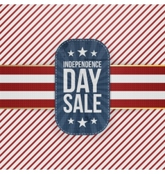 Independence Day Sale special Badge vector image