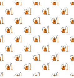 plastic vacuum cleaner pattern seamless vector image