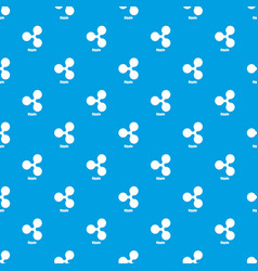 ripple pattern seamless blue vector image