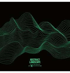 Abstract Landscape Background Array With Dynamic vector image