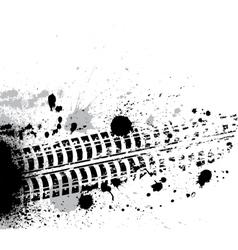 Ink blots background vector image vector image