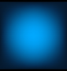 Blue honeycomb texture vector image
